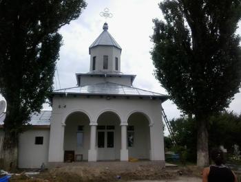 Capela Cimitirului public din Odobesti, restaurata