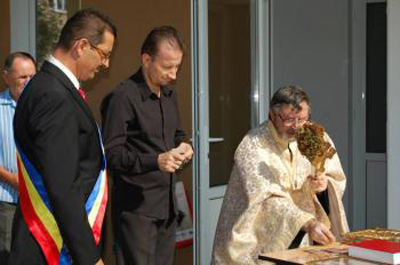 """Inaugurare """"Centru medical Dr. Calota """" Odobesti"""