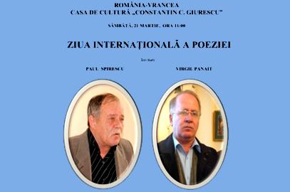 Ziua Internaţională a Poeziei la Odobeşti