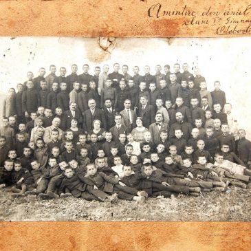 Memento: Şcoala gimnazială din Odobeşti acum 90 de ani