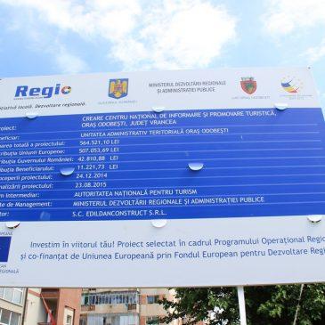 Conferința de presă privind finalizarea Centrului Turistic de Informare