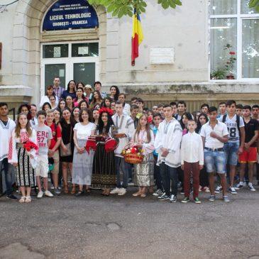 Elevi din Franța și Spania în vizită la Liceul Tehnologic