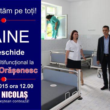 Centrul de Sănătate Multifuncţional din Odobești va fi inaugurat mâine