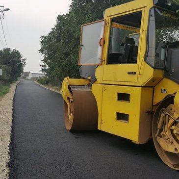 GALERIE FOTO: Străzi asfaltate pentru prima dată în istoria orașului Odobești