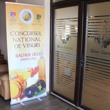 """Concursul Național de Vinuri """"Bachus"""" 2015 este la Odobești"""