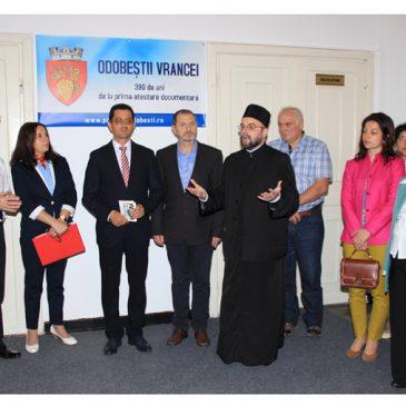 Fond de carte religioasă, inaugurat la Odobești