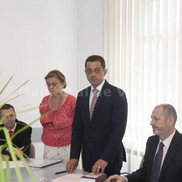 Primarul Daniel Nicolaș și consilierii din Odobești au depus jurământul