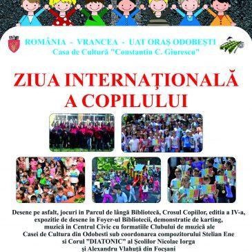 Ziua Internațională a Copilului la Odobești