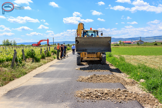 Drumuri de exploatare agricola din Odobesti