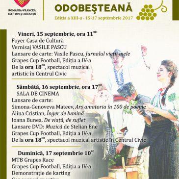 Începe Festivalului Tradițional Toamna Odobeșteană, editia a XIII-a