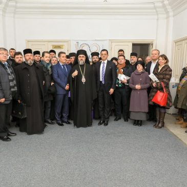 """Un eveniment de seamă a avut loc astăzi în Odobești- """"EPISCOPII UNIRII""""."""