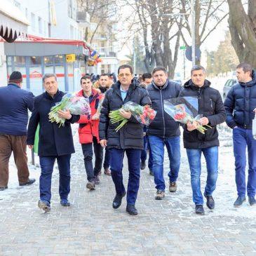 Flori pentru doamne de 1 Martie