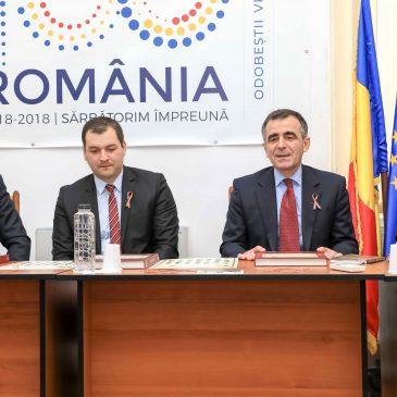 Ambasadorul Republicii Moldova a serbat Centenarul Unirii Basarabiei cu România, la ODOBEȘTI