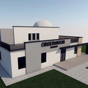 Observator astronomic, nouă aripă pentru Liceul Teoretic, parc și străzi modernizate! A fost semnat contractul de finanțare
