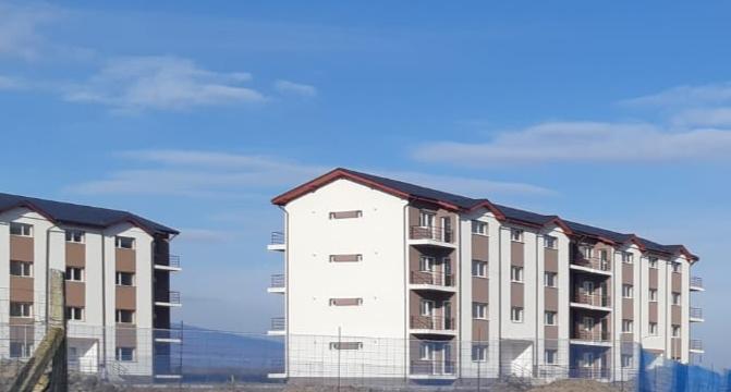 60 de locuințe sociale din Odobești, repartizate solicitanților