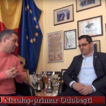 VIDEO: Interviurile lui Muscalu. Primarul Daniel Nicolaș despre investiții în baze sportive și de recreere din Odobești