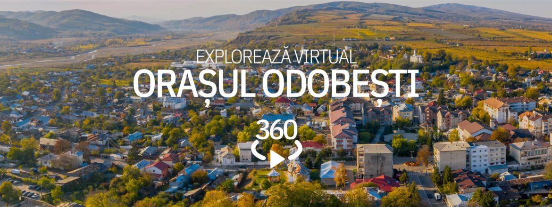 Tur virtual Odobești - orașul viilor domnești